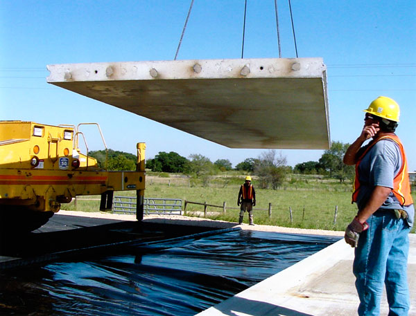 Precast Pavement Slabs Installation