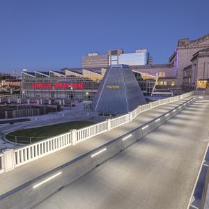 Carriage Pavilion Bridge At Union Station