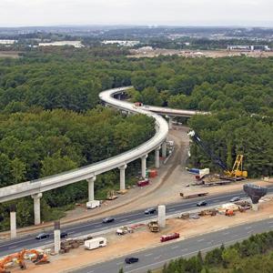 Aerial Guideway for the Dulles Corridor Metrorail