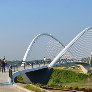Peter Courtney Minto Island Bicycle and Pedestrian Bridge