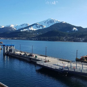 Port of Juneau Cruise Ship Terminal Concrete Pontoons