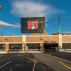 Boston University New Balance Athletic Field and Parking Garage