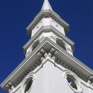 First Church of Monson - Steeple Replacement