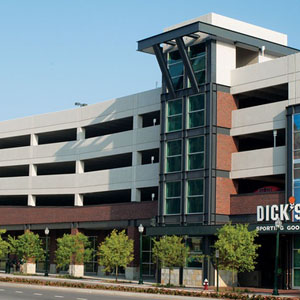 Dick's Sporting Goods Retail and Parking Structure