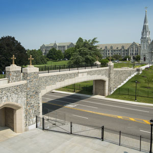 Villanova University Pedestrian Bridge