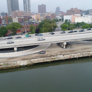 Reconstruction of Harlem River Drive Over East 127th Street