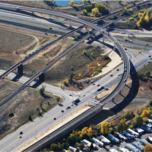 Santa Fe and C-470 Flyover