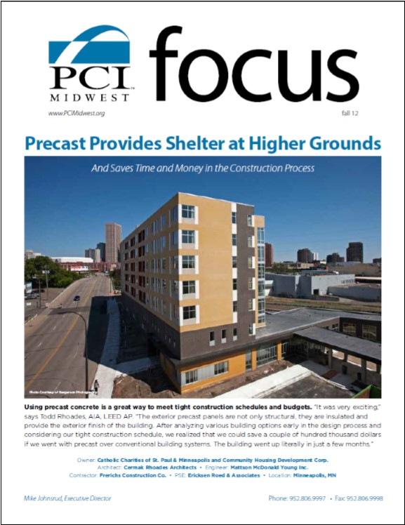 2012 Fall PCI Midwest Focus Newsletter