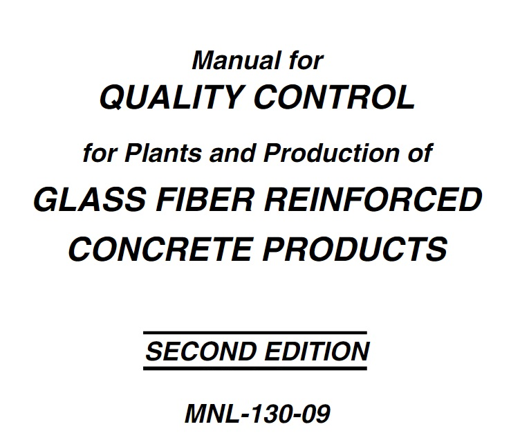 MNL130 - Quality Ctrl of Glass Fiber Reinforced Concrete PDF