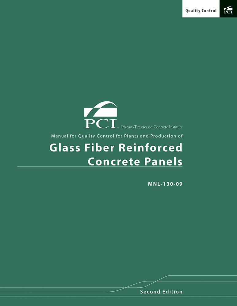 MNL130 Quality Ctrl of Glass Fiber Reinforced Concrete EBOOK
