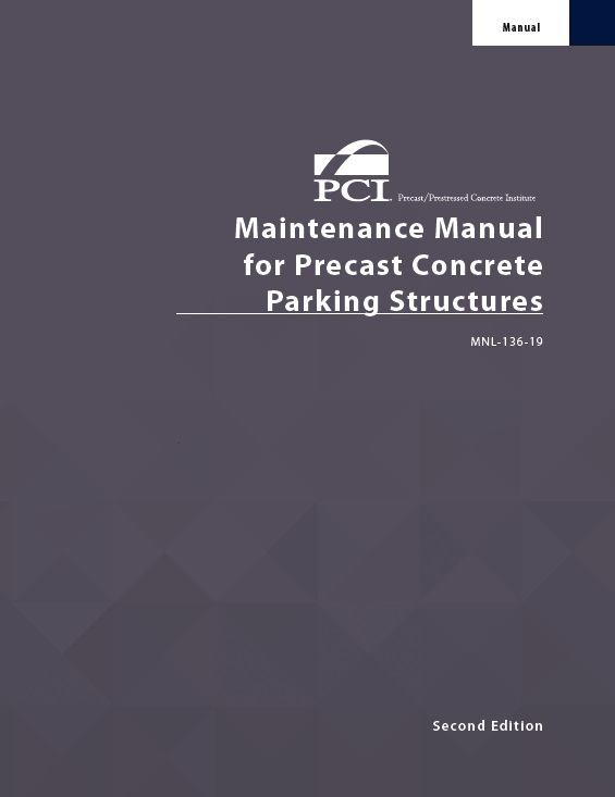 Maintenance for Precast Concrete Parking Structures FREE PDF
