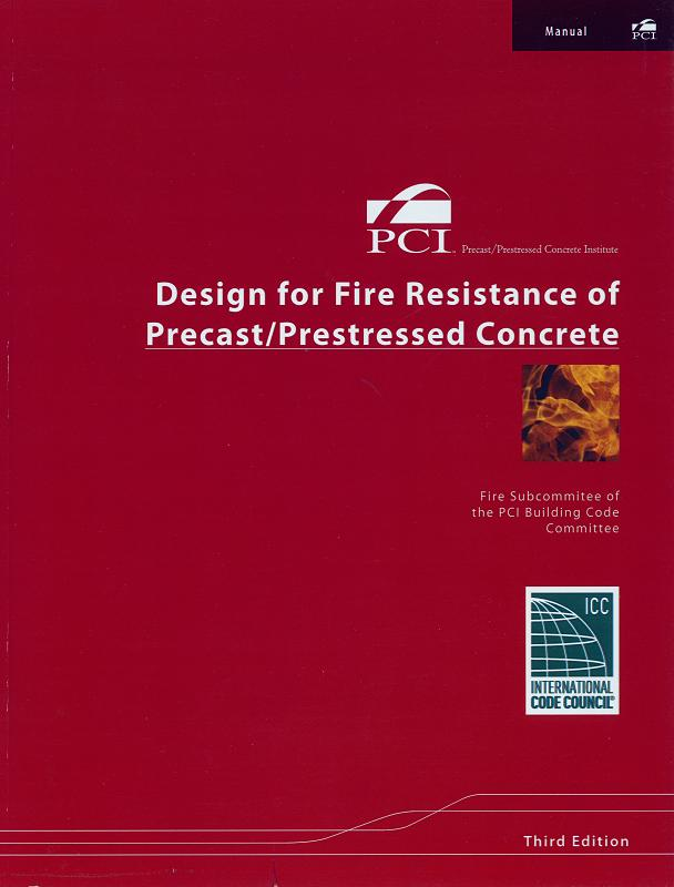 MNL124 -Fire Resistance of Precast Concrete EBOOK & HARDCOPY