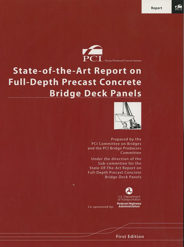 Full-Depth Precast Concrete Bridge Deck Panels FREE PDF