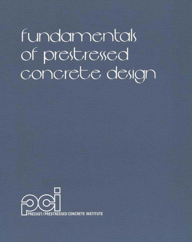 MNL115 - Fundamentals of Prestressed Design