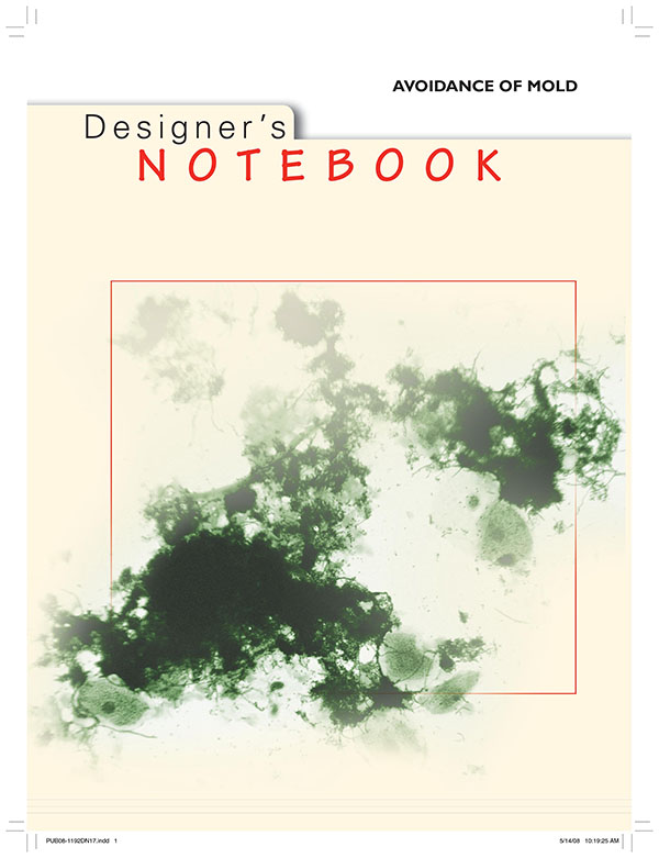 DN-17 Designer's Notebooks: Avoidance of Mold
